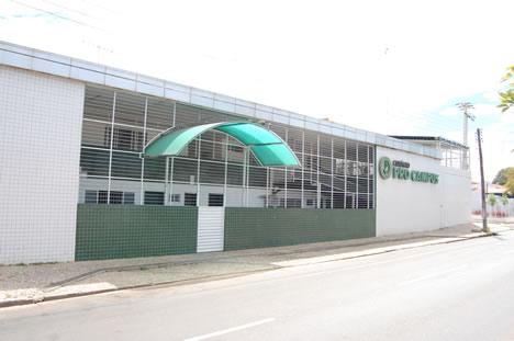 Fachada do Pro Campus Criança - acesso da Av. Joaquim Ribeiro