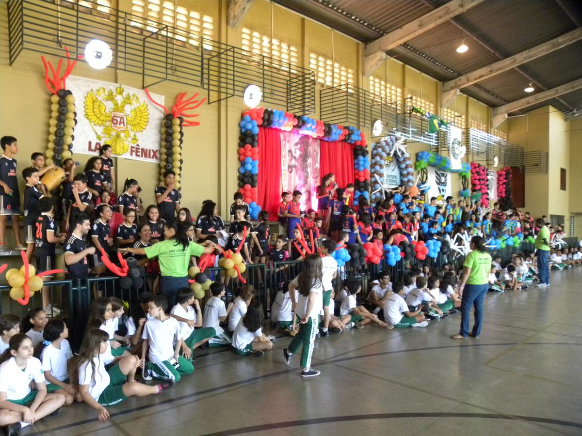 Olimpíadas 2016 no Ginásio do Pro Campus