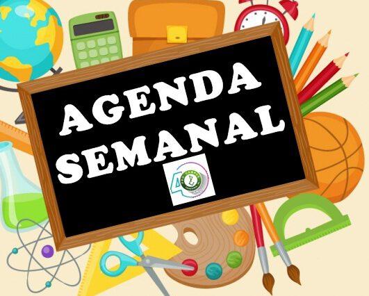 AGENDA SEMANAL 2020
