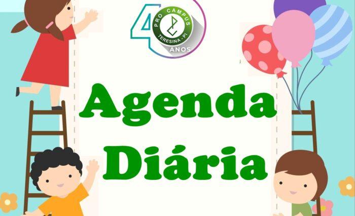 Agenda diária 03