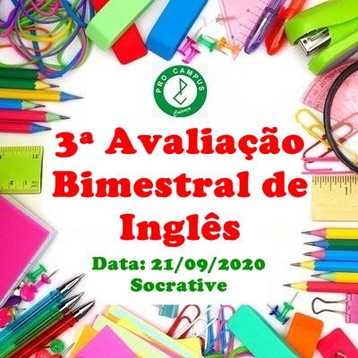 3ª-avaliação-bimestral-inglês